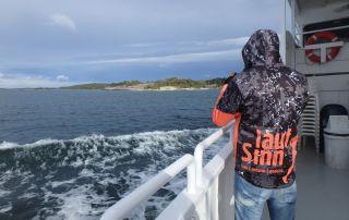 SwimRun Utö - Fahrt zur Insel