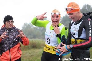 1. Allgäu SwimRun - Nadine von Wolff Sports