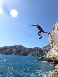 WoS Testing - SwimRun Jump in den Calanques von Marseille
