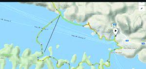 ÖTILLÖ Worldseries HVAR - Schwimmen3 Streckenübersicht