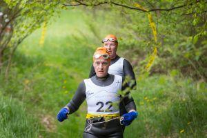 1. SwimRun Hof - 21.2 Trumer Tri Team auf dem Trail