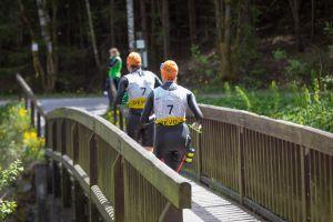 1. SwimRun Hof - 21.2 die Brücken