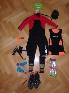 Ausrüstung für Engadin SwimRun, Equipment - Andreas