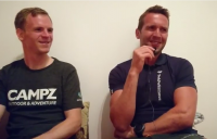 team campz André Hook und Wolfgang Grohé - Foto: SwimRun Germany