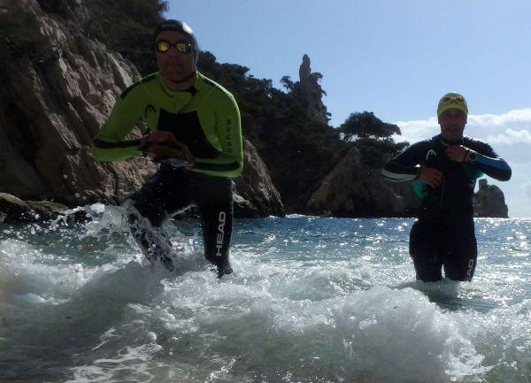 SwimRun in den Calanques von Marseille