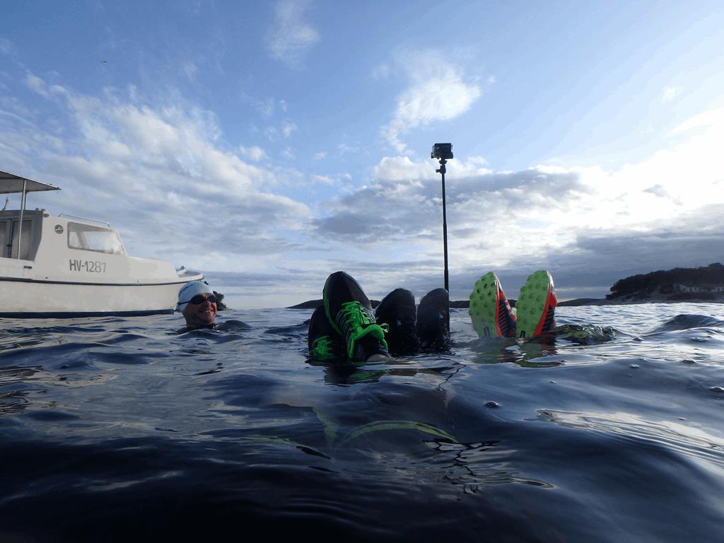 Hvar 2018 Testing 1 - Foto: SwimRun Germany