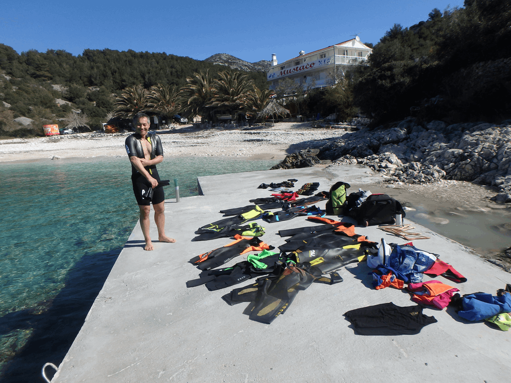 Hvar 2018 Testing 3 - Foto: SwimRun Germany