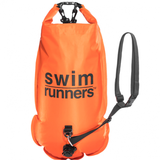 SwimRunners Safety Buoy Piggybacking - Foto: SwimRun Shop by SwimRunners