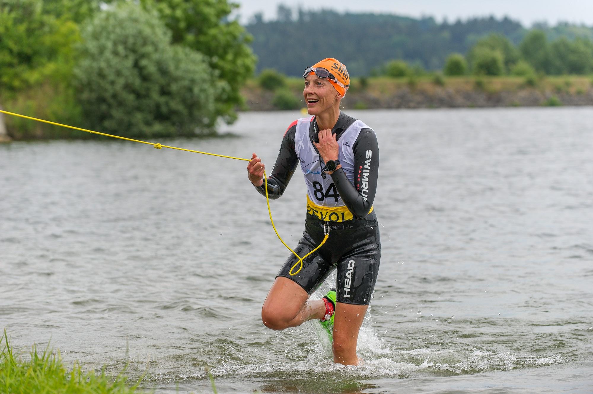 SwimRun Hof 2018 Ambassador Team im Rennen - Foto: Andreas Geisser
