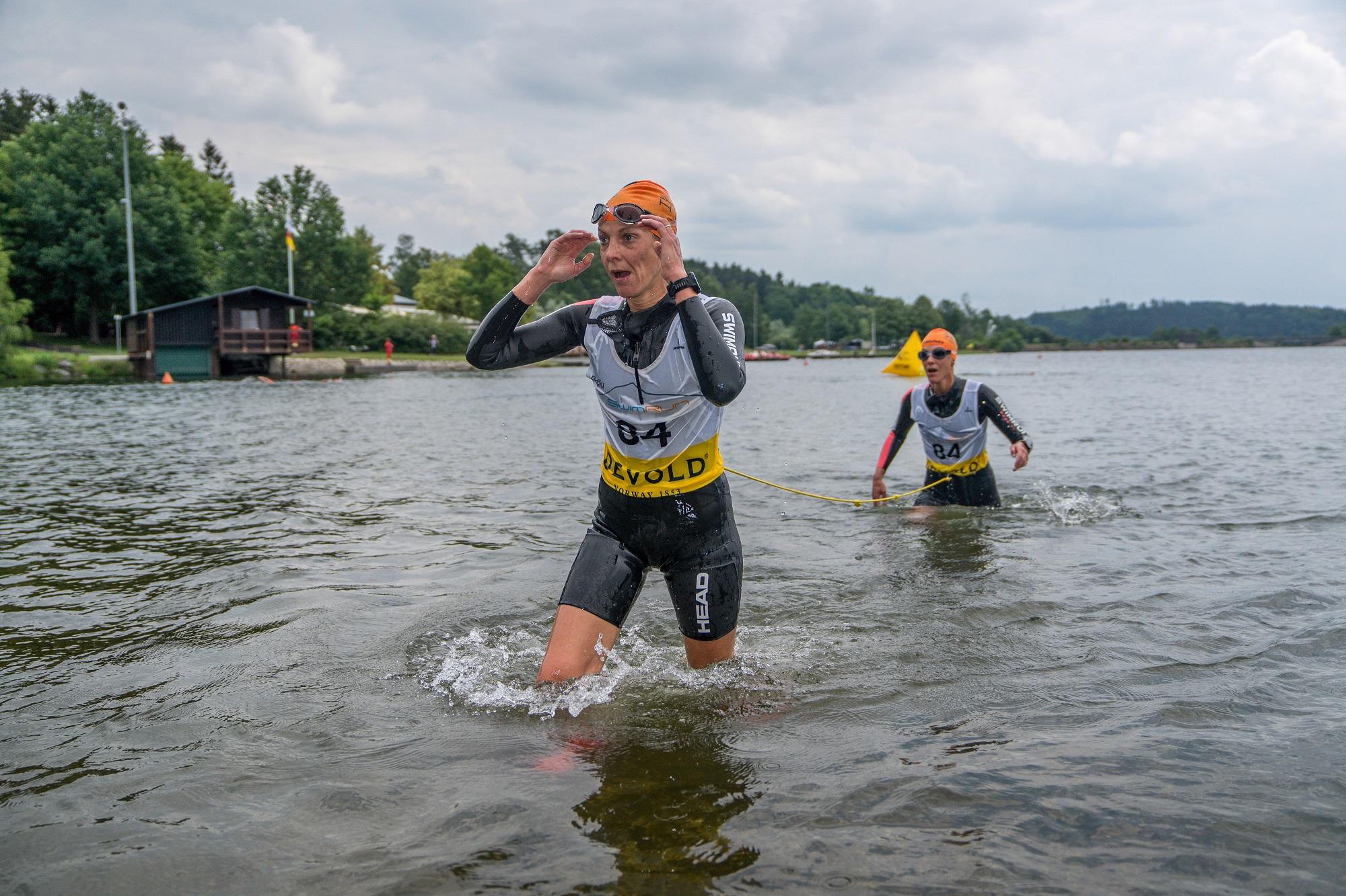 SwimRun Hof 2018 Ambassador Team im Rennen - Foto: Jochen Bake